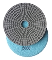 "5"" Wet Diamond Polishing Pad, 2000 grit"