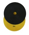 7 inch wet polishing pad, grit 200