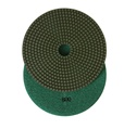 7 inch wet polishing pad, grit 800