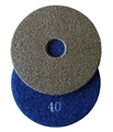 3 inch Electroplated Polishing Pad, 40 grit
