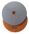 4 inch Electroplated Polishing Pad, 2000 grit