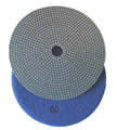 5 inch Electroplated Polishing Pad, 60 grit