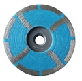 4 Flat Resin Cup Wheel, Coarse, 5/8 inch -11