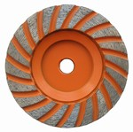 4 inch Coarse Turbo Cup Wheel, 5/8 inch -11