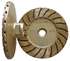 Disco 4 inch Coarse Turbo Cup Wheel