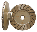 Disco 4 inch Medium Turbo Cup Wheel,  5/8 inch -11