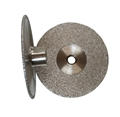 4 inch Vacuum Brazed Cup Wheel, Coarse, 5/8 inch -11