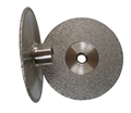 4 inch Vacuum Brazed Cup Wheel, Medium, 5/8 inch -11