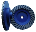 "5 inch Coarse Turbo Cup Wheel,  5/8""-11 thread"