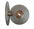 5 inch Vacuum Brazed Cup Wheel, Medium, 5/8 inch -11