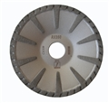 5 inch Disco Dry/wet Cut Contour Turbo Blade