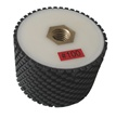 "3"" x 2"" Resin Bond Drum Wheel 100 Grit, Wet Use"