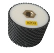 "3"" x 2"" Resin Bond Drum Wheel 200 Grit, Wet Use"