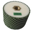 "3"" x 2"" Resin Bond Drum Wheel 800 Grit, 5/8"" -11, Wet Use"