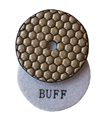 3 inch Premium Dry Polishing Buff Pad, White