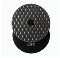 "4"" Premium Dry Polishing Pad, Black Buff"