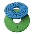 "5"" Concrete terrazzo diamond polishing pads, step 1"