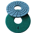 "5"" Concrete terrazzo diamond polishing pads, step 4"