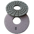 "5"" Concrete terrazzo diamond polishing pads, step 5"