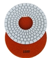 "7"" Dry Diamond Concrete Pad (5mm), 1500 Grit"