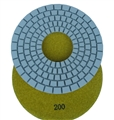 "7"" Dry Diamond Concrete Pad (5mm), 200 Grit"