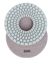 "7"" Dry Diamond Concrete Pad (5mm), 3000 Grit"
