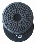 "3.5"" x 7mm Diamond Floor Disc, 120 grit, Wet Use"