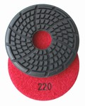 3.5 inch x 7mm Diamond Floor Disc, 220 grit, Wet Use