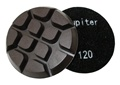 3 inch x 12mm Concrete Floor Disc Resin-bond, 120 Grit