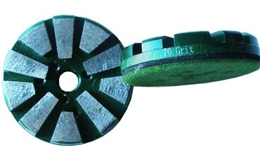"""3/"""" Diamond Floor Disc//Discs 400# for Concrete//Terrazzo Dry or Wet Use"""