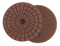 4 inch Edge Polishing Pad, Velcro Back, Step 4