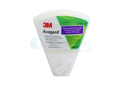 "3Mâ""¢ Avagardâ""¢ (Chlorhexidine Gluconate 1% Solution and Ethyl Alcohol 61% w/w) Surgical and Healthcare Personnel Hand Antiseptic with Moisturizers 9200, 500 mL Dispenser Bottle, 1 bottle"