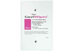 CaviWipes Wall Bracket | Wall Holder for CaviWipes Canister 13-1185