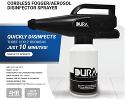 DuraSprayer Cordless Fogger Disinfector Kit