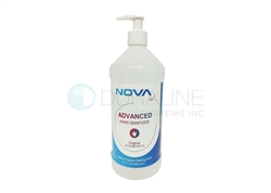 Hand Sanitizer Gel, with 70% Alcohol, 32 oz. with Pump Top
