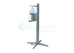 AeroCleanse Pedal Activated Sanitizer Dispenser Stand, for One-Gallon Hand Sanitizer Gel