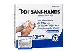 PDI Sani-Hands Sanitizing Wipes
