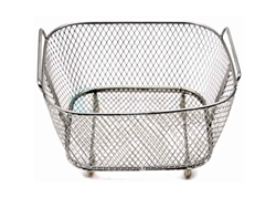 Ultrasonic Cleaner Fine Mesh Basket, 0.5 gallon