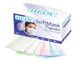 Hedy SoftMask Defender LEVEL 3  Earloop Masks