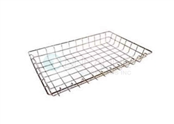 "Market Forge 12"" x 20"" x 4""  Wire Basket"