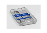 DIN 1/1 mesh tray for rigid optics and MIS instruments