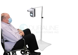 Wheelchair Forehead Thermometer Stand