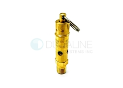 Safety Release Valve, 40 psi, for Tuttnauer Autoclaves