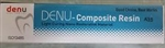 Denu Dental Composite Resin Light Cure 4g Nano Filler A1