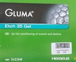 GLUMA ETCH 35 GEL 2X2.5ml SYRINGE Heraeus KULZER ETCHANT DENTAL