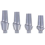 10 x Straight Titanium Esthetic Anatomic Abutment Dental Implants Collar