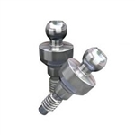 10 Ball Attachments Titanium Abutments for Dental Implants Fits AB MIS Zimmer