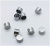 10 Titanium Caps Housing for Ball Attachment Abutment Dental Implant Overdenture