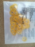 3M ESPE Sof-Lex soflex Discs 4931SF 1/2 inch 12.7mm Bag of 30 Dental Orange