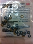 3M ESPE Sof-Lex soflex Discs Medium 3/8 inch 9.5mm Bag of 30 Dental 4850M